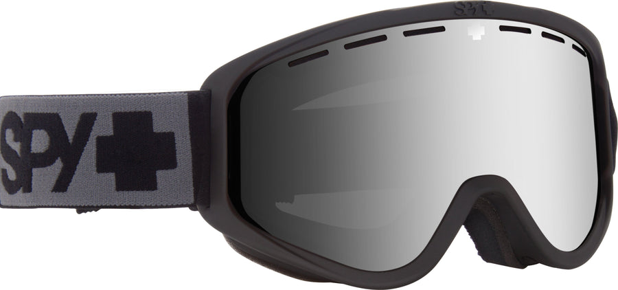SPY Woot Matte Black -HD Bronze with Silver Spectra + HD LL Persimmon Snow Goggles GOGGLES - Spy Goggles Spy