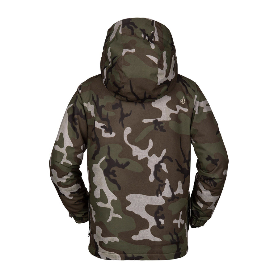 VOLCOM Ripley Insulated Youth Snowboard Jacket GI Camo 2020 YOUTH INFANT OUTERWEAR - Youth Snowboard Jackets Volcom L