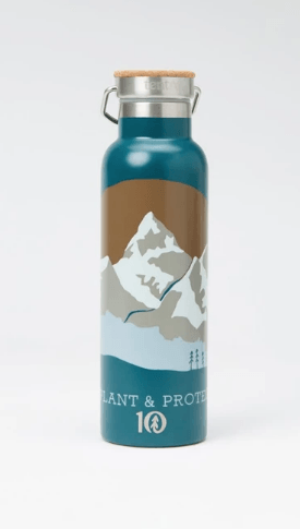 TENTREE Tentree Waterbottle Deep Teal ACCESSORIES - Cups Mugs and Shot Glasses Tentree