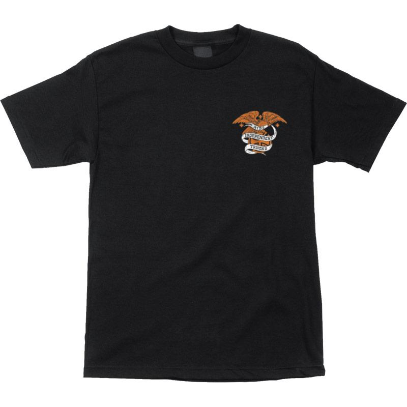 INDEPENDENT Alder Seal T-Shirt Black