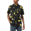 VANS Super Bloom Floral S/S Button Up Shirt Black