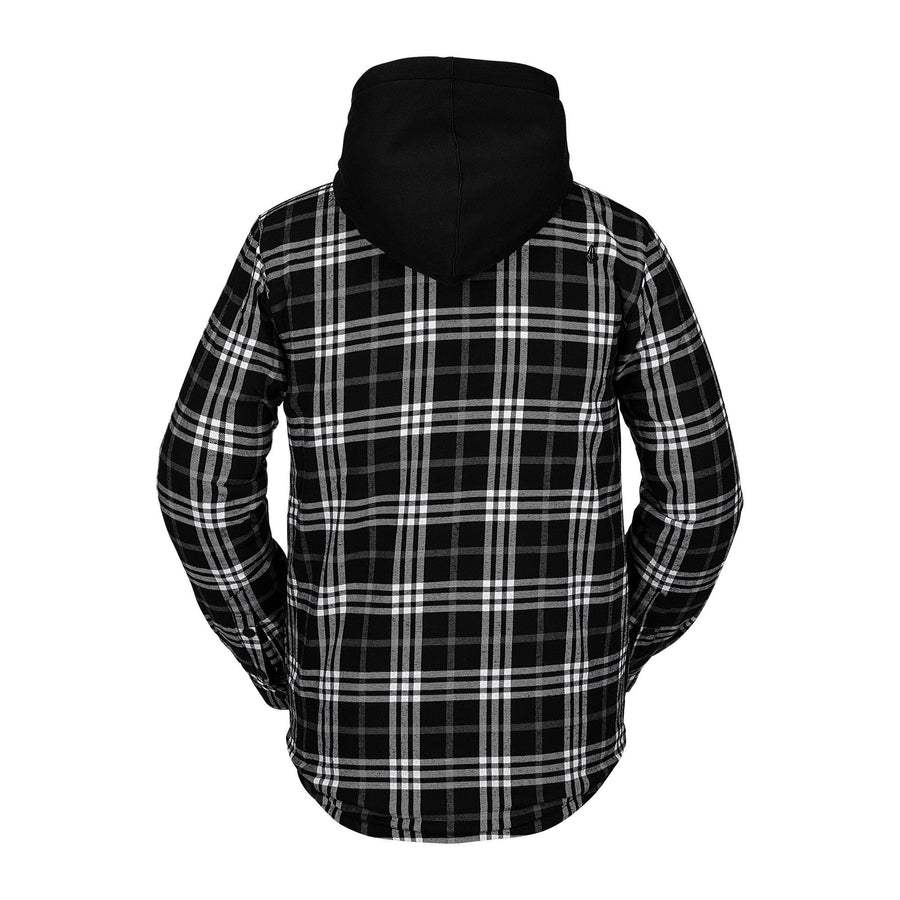 VOLCOM Field Insulated Flannel Black MENS APPAREL - Men's Street Jackets Volcom