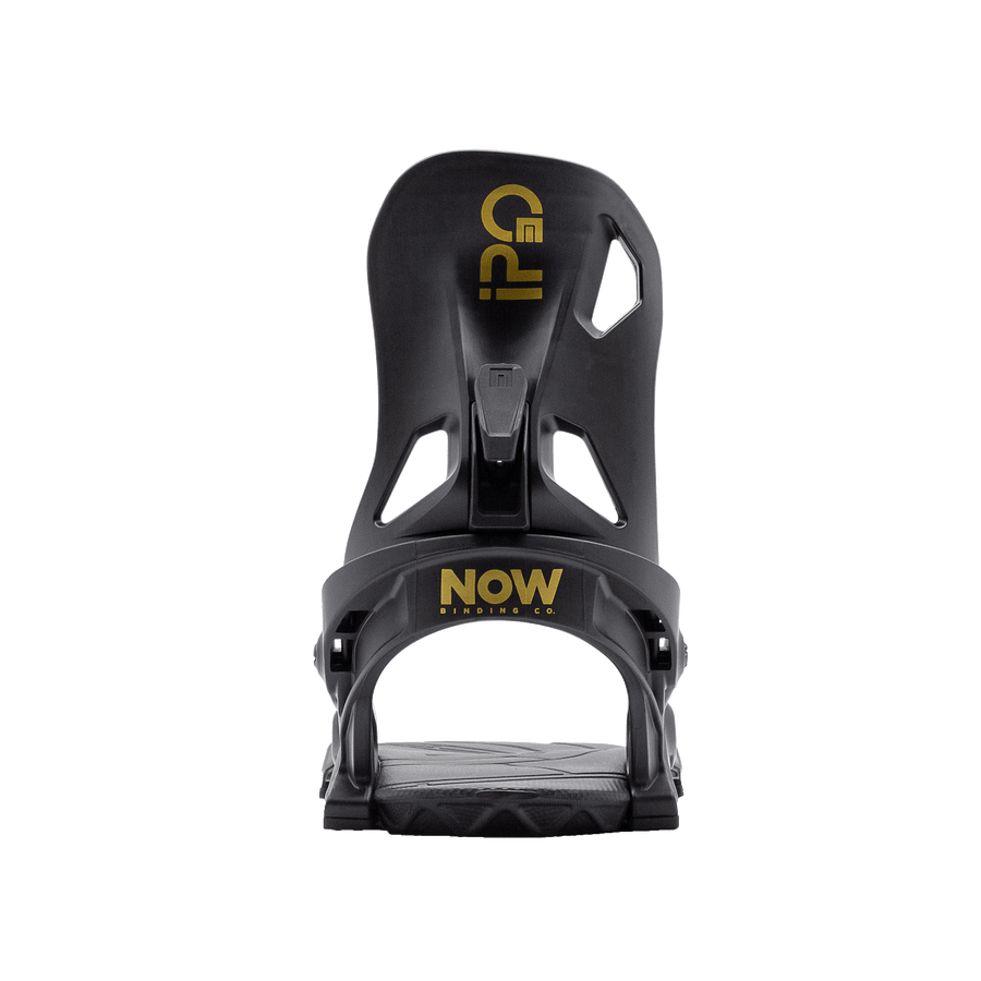 NOW IPO Snowboard Bindings Black 2021 SNOWBOARD BINDINGS - Men's Snowboard Bindings Now Bindings