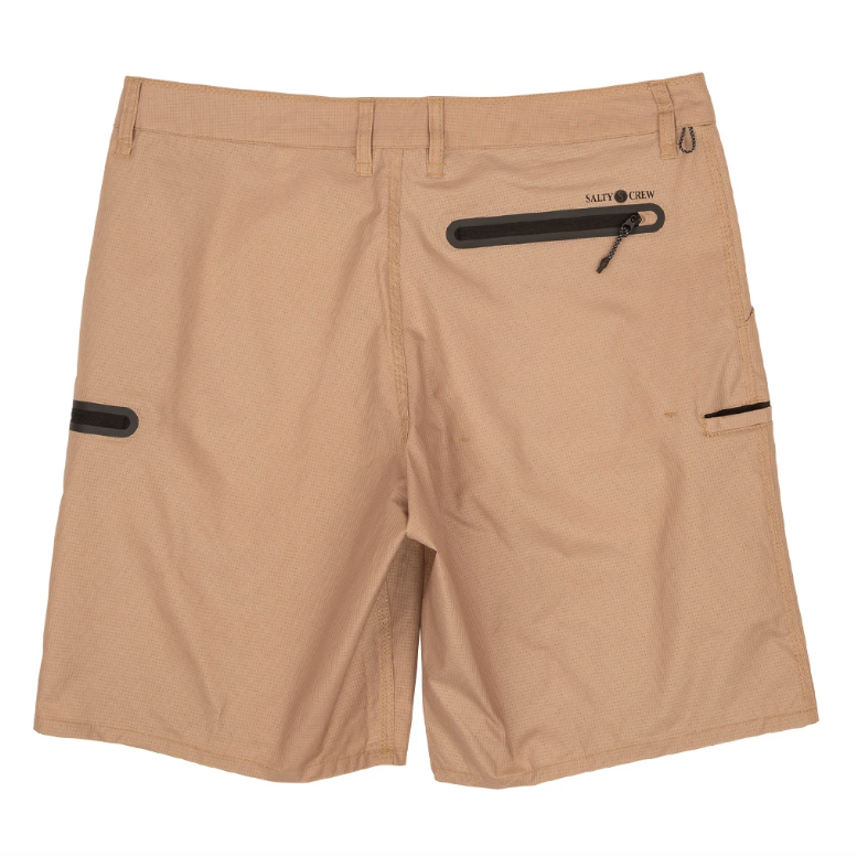 SALTY CREW High Seas Perf Hybrid Walkshorts Khaki