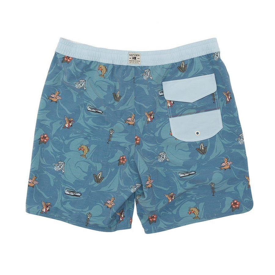 SALTY CREW Dinghy Boardshorts Blue MENS APPAREL - Men's Boardshorts Salty Crew