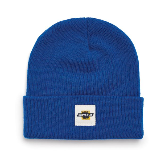 BRIXTON X Chevrolet Heist Beanie Roadster Royal MENS ACCESSORIES - Men's Beanies Brixton