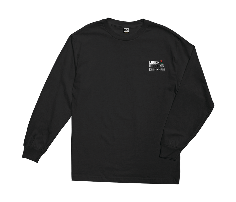 LOSER MACHINE Garden Stock L/S T-Shirt Black