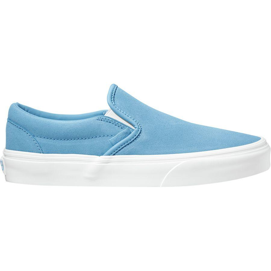 VANS Classic Slip-On Womens Shoes Alaskan Blue