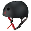 TRIPLE 8 Brainsaver Wakeboard Helmet WAKEBOARD & SURF EQUIPMENT - Wakeboard Helmets TRIPLE 8 BLACK RUBBER L