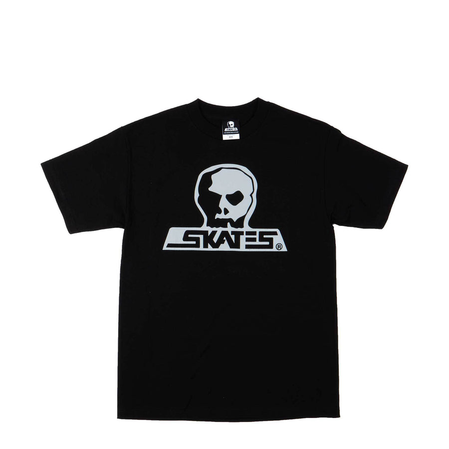 SKULL SKATES Burbs Logo T-Shirt Grey Scale MENS APPAREL - Men's Short Sleeve T-Shirts Skull Skates