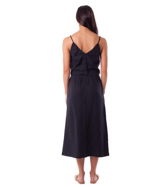 RHYTHM Amalfi Skirt Black WOMENS APPAREL - Women's Skirts Rhythm