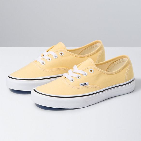 VANS Authentic Women's Shoes Golden Haze/True White FOOTWEAR - Women's Skate Shoes Vans
