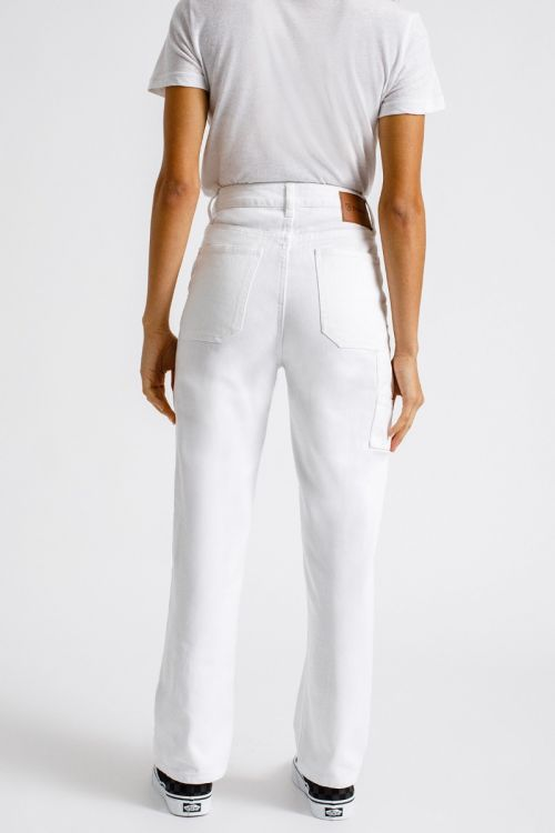 BRIXTON Janie Carpenter Pant Women's White