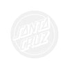 SANTA CRUZ Decal Opus Dot 3in Sticker White