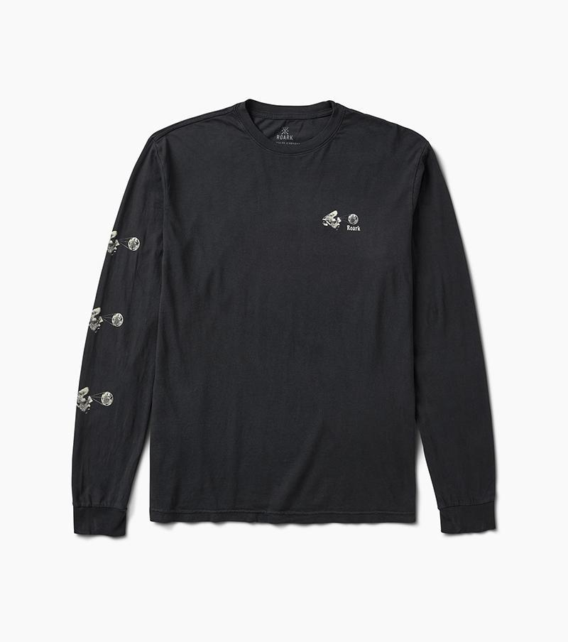 ROARK Wordly Views L/S T-Shirt Black