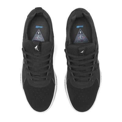 LAKAI Proto Shoes Kids Black/White Suede FOOTWEAR - Youth and Toddler Skate Shoes Lakai