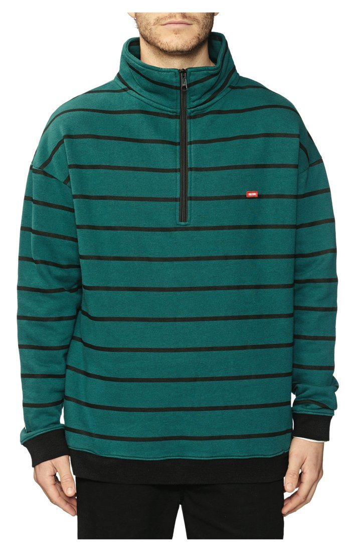 GLOBE Half Way Fleece Grass MENS APPAREL - Men's Sweaters and Sweatshirts Globe