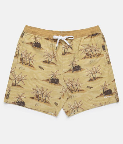 RHYTHM Honolulu Boardshorts Sunset Yellow