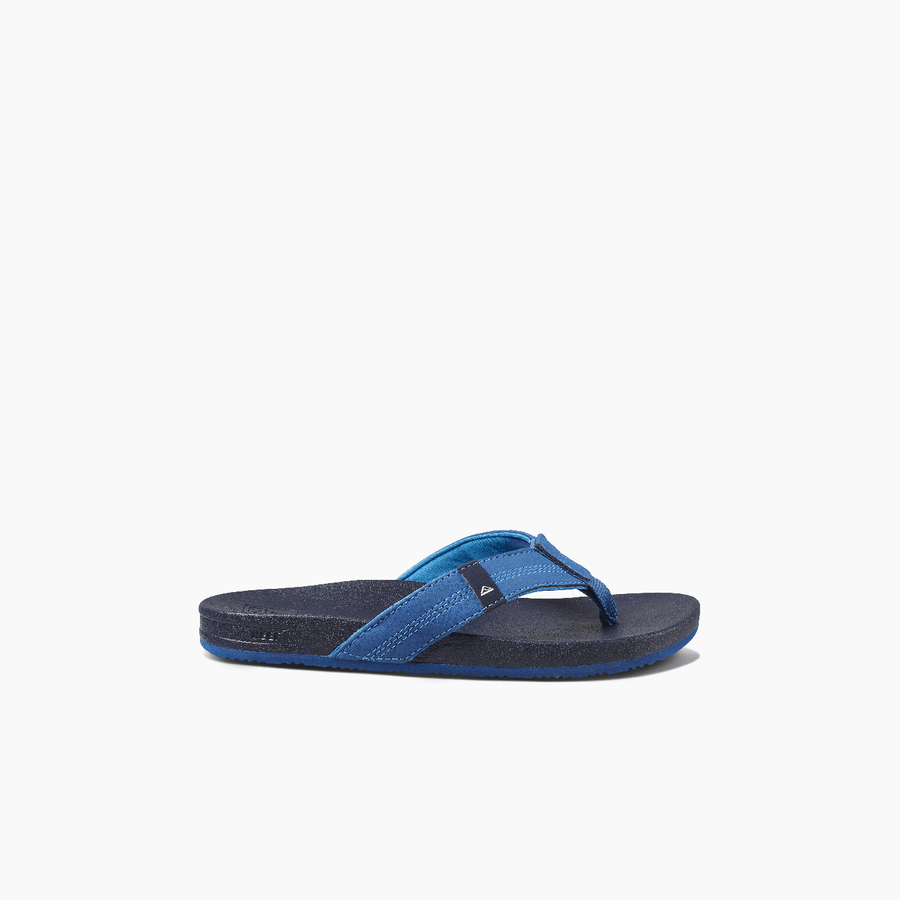 REEF Cushion Bounce Phantom Sandals Kids Navy FOOTWEAR - Youth Sandals Reef
