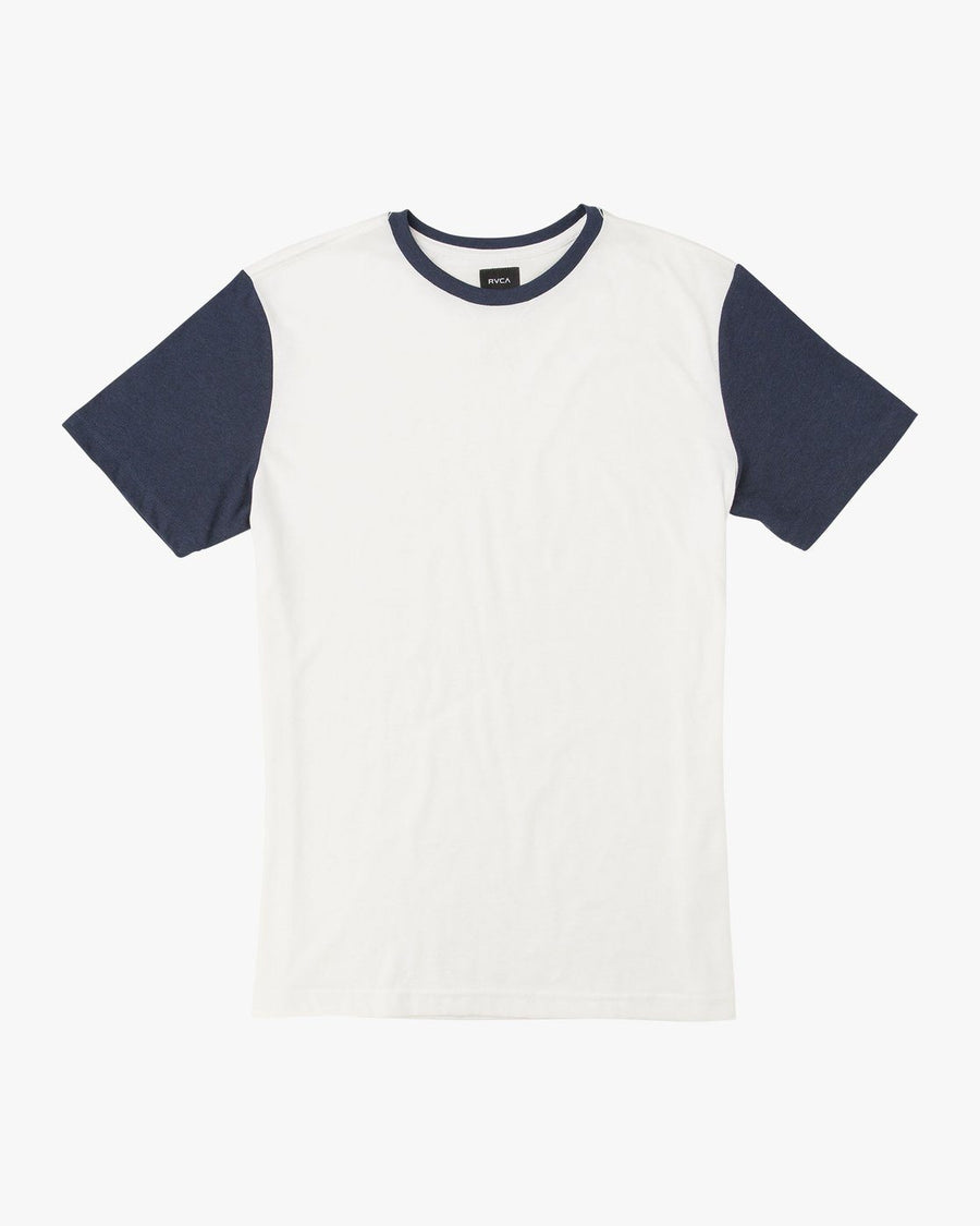 RVCA Pick Up II Knit T-Shirt Antique White MENS APPAREL - Men's Short Sleeve T-Shirts RVCA