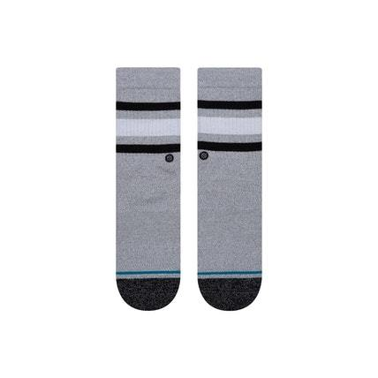 STANCE Boyd STP Socks Kids Heather Grey KIDS APPAREL - Boy's Socks Stance