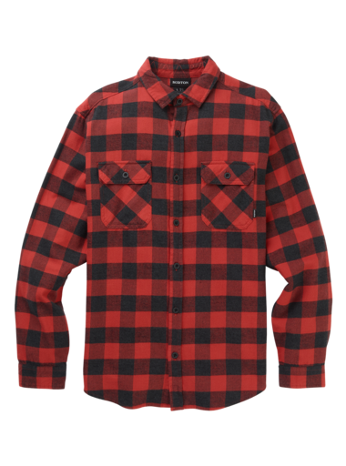 BURTON Brighton Flannel Tandori Heather Buffalo