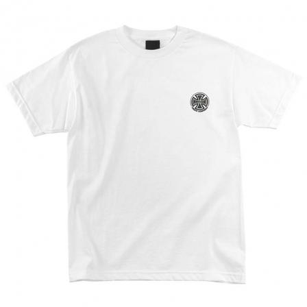 INDEPENDENT Truck Co. Embroidery T-Shirt White MENS APPAREL - Men's Short Sleeve T-Shirts Independent L