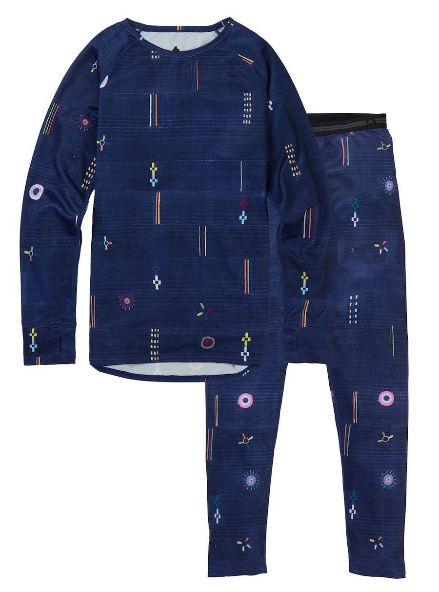 BURTON Lightweight Base Layer Set Kid's Camp Craft