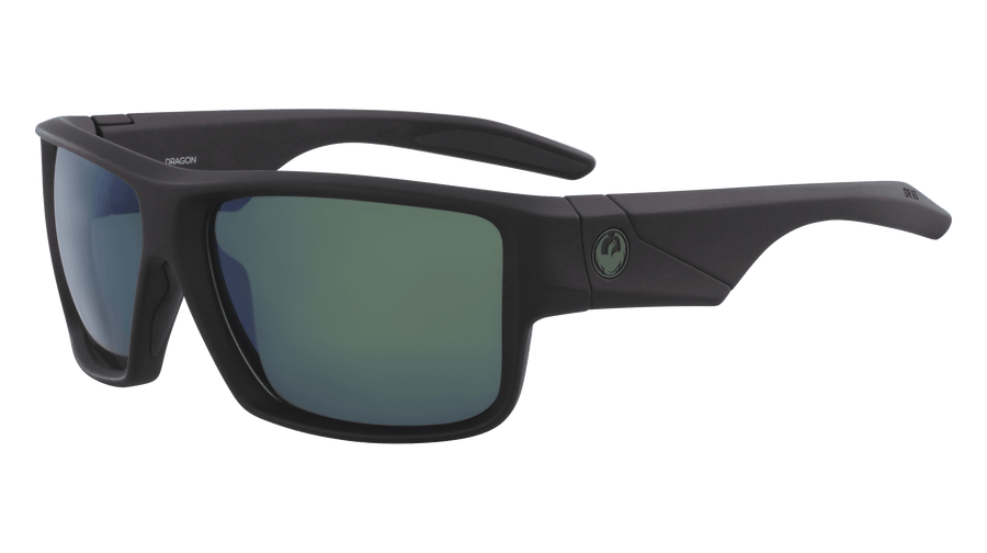 DRAGON Deadlock H20 Matte Black - Petrol Polarized Sunglasses