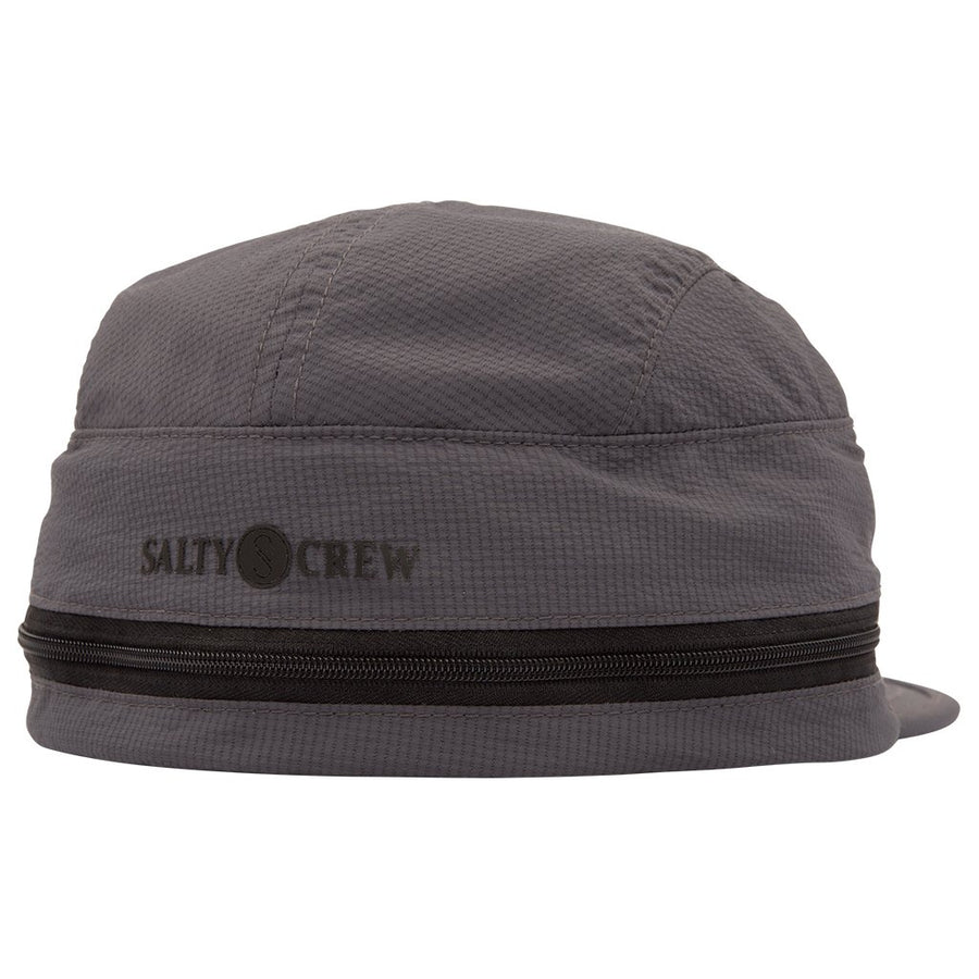 SALTY CREW inshore 5 Panel Hat Charcoal