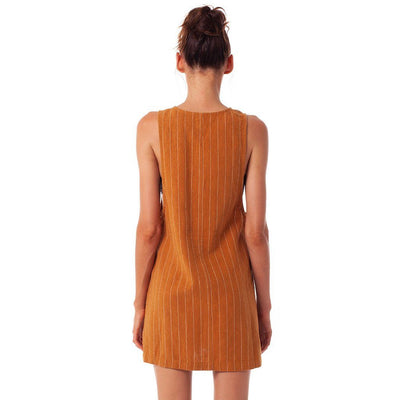 RHYTHM Mykonos Dress Chai WOMENS APPAREL - Women's Dresses Rhythm