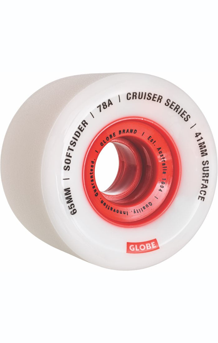 GLOBE Softsider Cruiser 65mm 78A Longboard Wheels