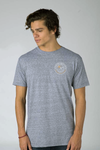FREERIDE Okanagan Badge T-Shirt Grey
