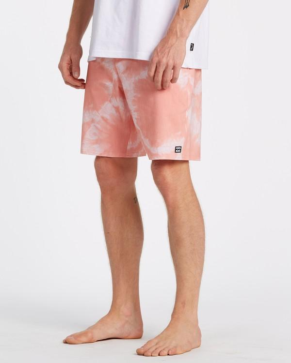 "BILLABONG All Day Riot Lo Tides 19"" Boardshorts Neon Melon"