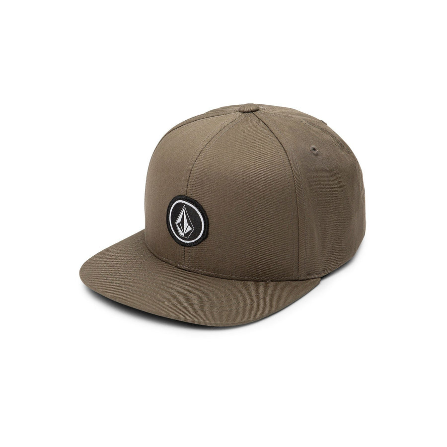 VOLCOM Quarter Snapback Hat Youth Military KIDS APPAREL - Boy's Hats Volcom