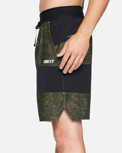 "HURLEY Phantom Explore Apex 17.5"" Shorts Medium Olive MENS APPAREL - Men's Boardshorts Hurley"