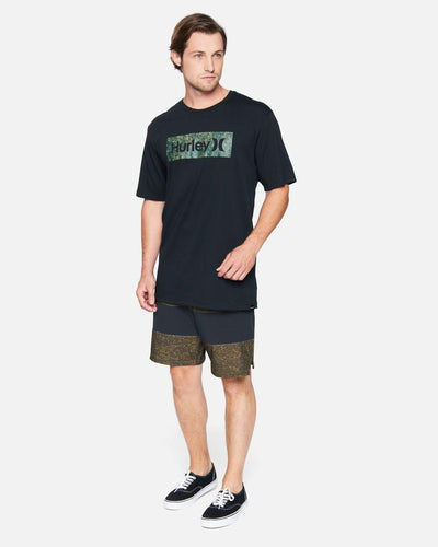 HURLEY Everyday Explore One And Only Crust T-Shirt Black MENS APPAREL - Men's Short Sleeve T-Shirts Hurley