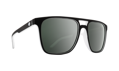 SPY Czar Whitewall - HD Plus Grey Green With Platinum Spectra Mirror Sunglasses SUNGLASSES - Spy Sunglasses Spy