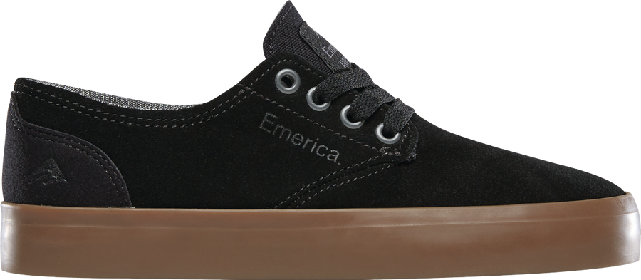 EMERICA The Romero Laced Shoes Youth Black/Gum
