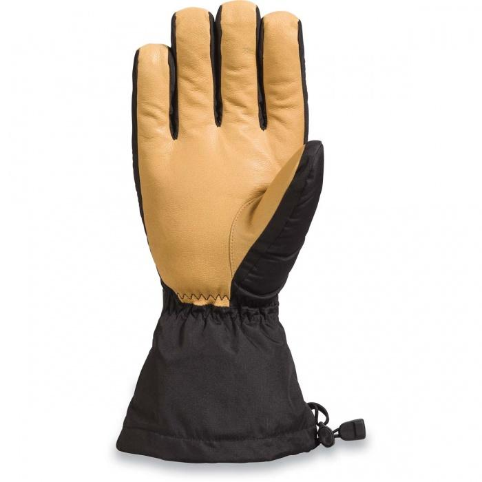 DAKINE Nova Glove Black/ Tan WINTER GLOVES - Men's Snowboard Gloves and Mitts Dakine BLACK/TAN L