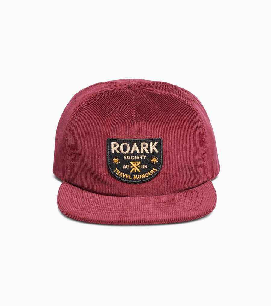 d4b8964511e ROARK Travel Mongers Hat Burgundy