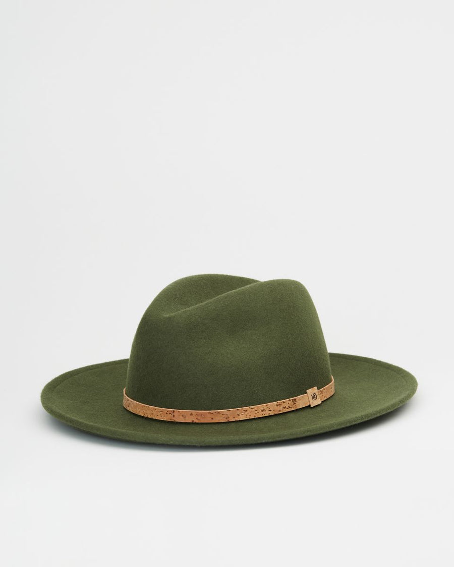 TENTREE Festival Hat Olive Night Green