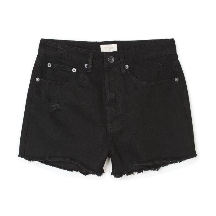 BRIXTON Natasha Cut Off Shorts Women's Black