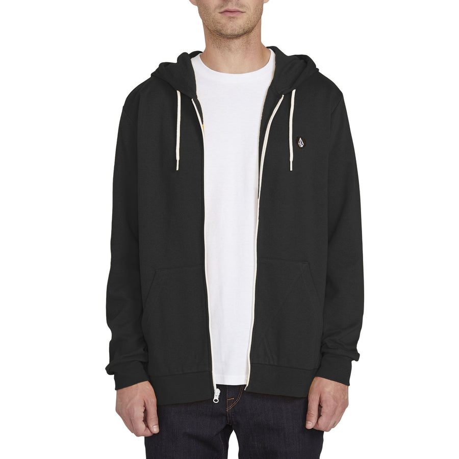 VOLCOM Iconic Zip Hoodie Heather Black