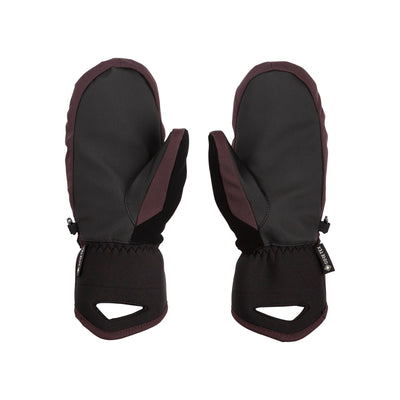 VOLCOM Peep Gore-Tex Mitt Women's Black Red
