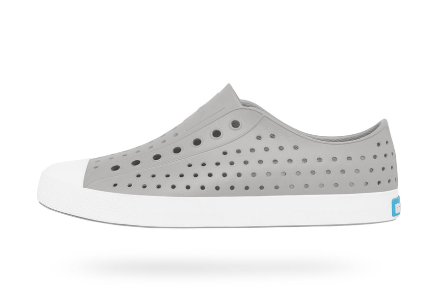 NATIVE Jefferson Adult Pigeon Grey/Shell White Shoes