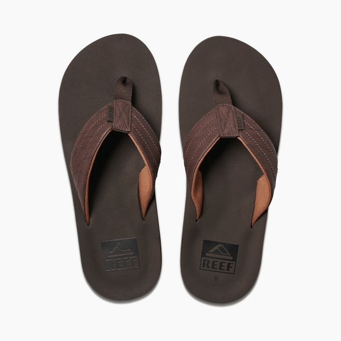 Reef Twinpin Lux Brown Sandals