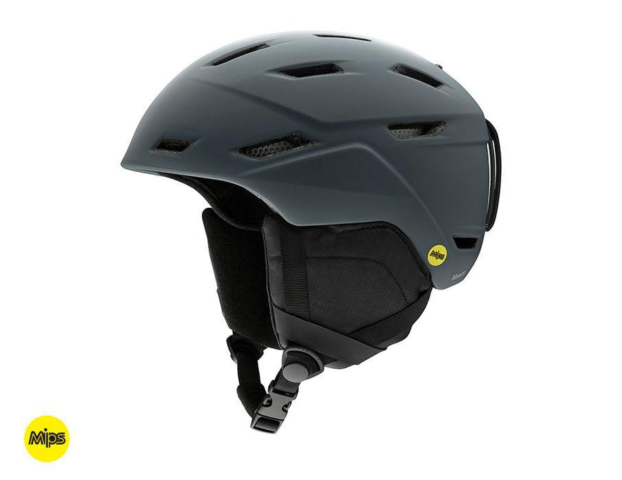 SMITH Mission MIPS Snow Helmet Matte Charcoal 2020