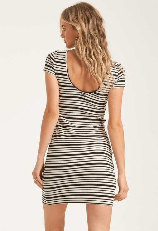 BILLABONG Shore Thing Dress Women's Black WOMENS APPAREL - Women's Dresses Billabong