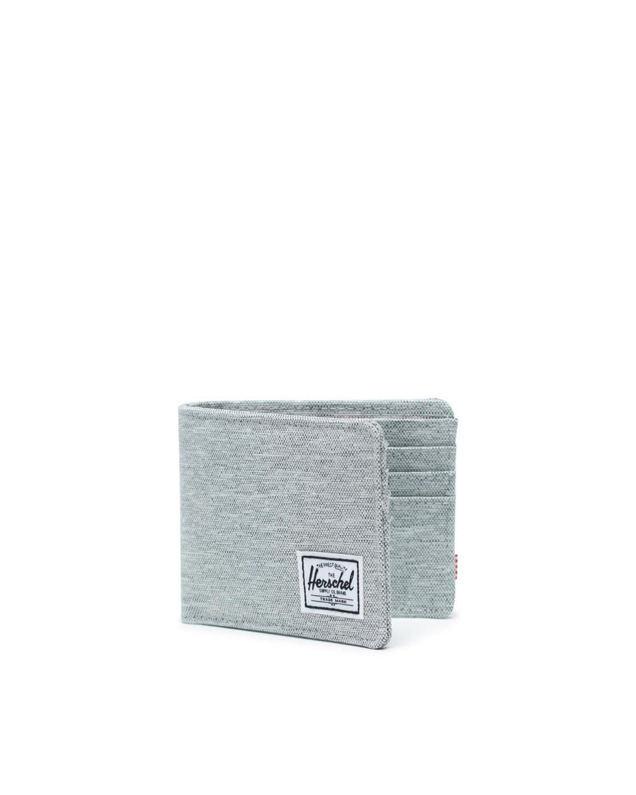 HERSCHEL Roy Wallet Light Grey Crosshatch